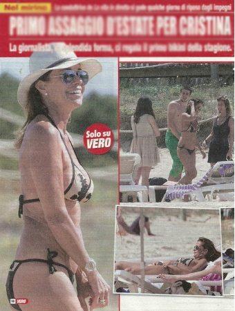 """Cristina Parodi """"luna di miele"""" col marito a Formentera"""
