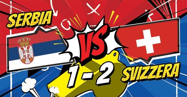 La Svizzera beffa la Serbia, Brasile vittoria in extremis, la Nigeria batte l'Islanda; Mondiali 2018