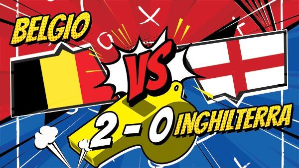 Il Belgio vince la