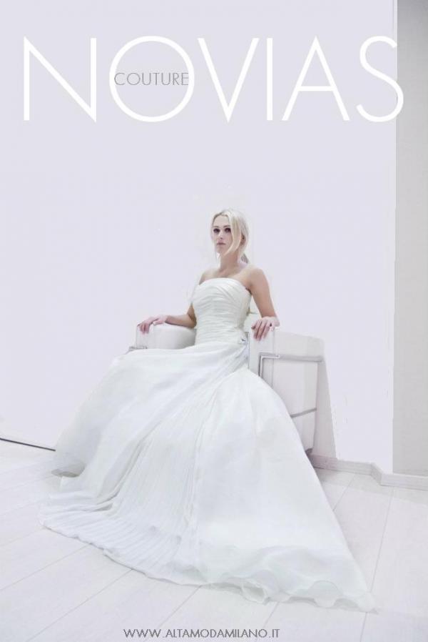 Alta moda sposa milano NOVIAS collezione 2012 made in italy BRIDE COUTURE
