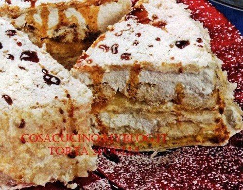 Torta sfoglia  - la torta estiva