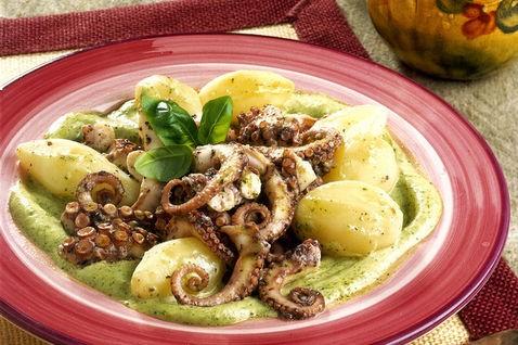 L'insalata di polpo e patate