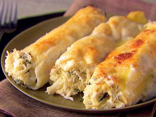 Cannelloni con carciofi e salsiccia - ricette di Sardegna