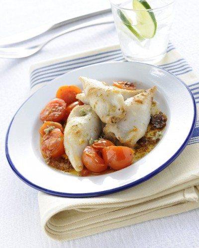 Calamari ripieni - Ricetta Siciliana