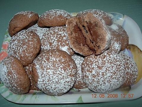 Biscotti alla nutella tipo grisbi - semplici e passo passo con foto