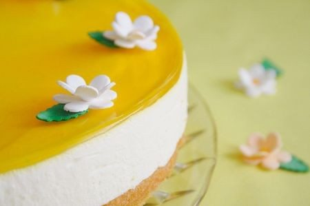 Torta al limone cheesecake light