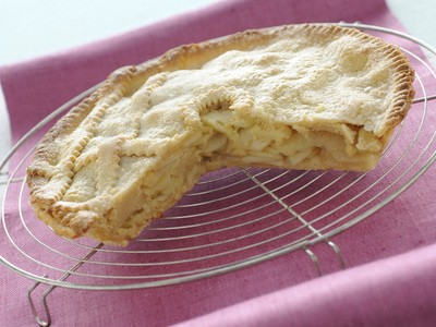 Raffinata e semplice...Apple pie (crostata di mele all'inglese)