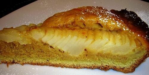 La ricetta della crostata lucida  di pere ... gustosissima e facile