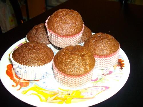 I gustosissimi e facili  Muffins al cacao