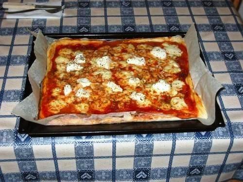 Pizza fatta in casa 1 kg