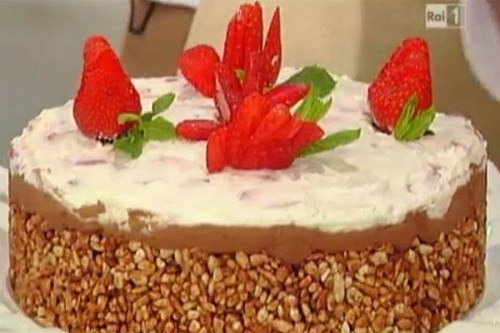 La ricetta della torta di riso soffiato di Anna Moroni
