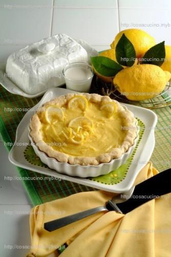 La ricetta della Torta al limone  - squisita e  facile in 4 mosse