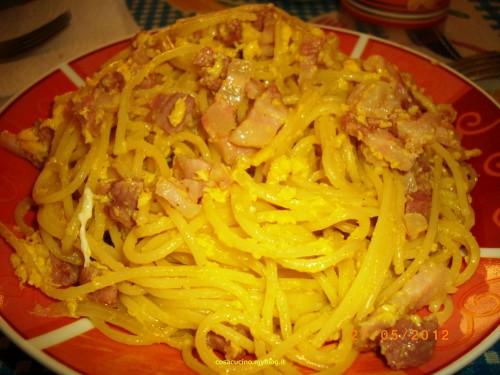 L'esclusiva ricetta degli spaghetti alla carbonara dello Chef Borgomeo..una novità