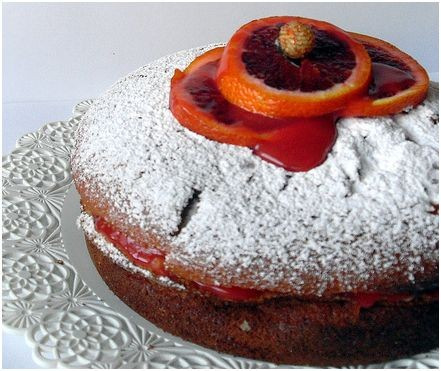 Hai provato la Torta alla crema di arance rosse? Superlativa.