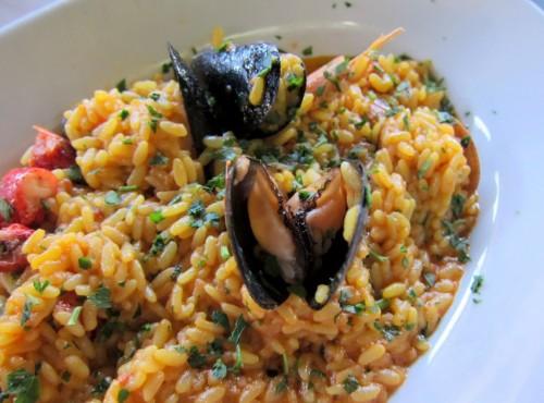 Risotto alla marinara - ricette di Sardegna