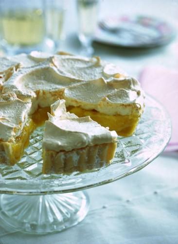 Crostata di crema al limone  (Buonissima, leggera e facile)