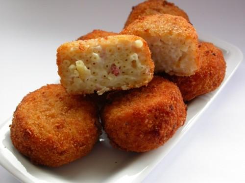 Frittatine di maccheroni  alla napoletana