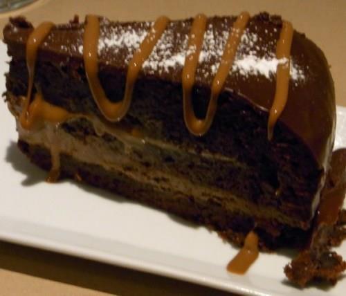 Torta alla nutella  con crema di mascarpone - Ricette di Sardegna