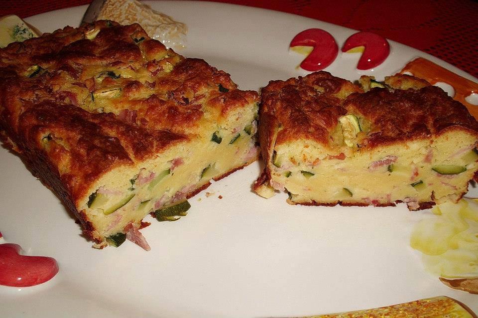 Plumcake con ricotta e zucchine