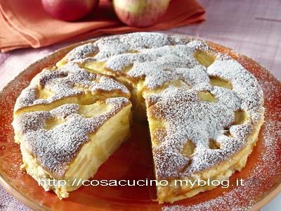 Torta di mele soffice al limone (La colazione ideale)