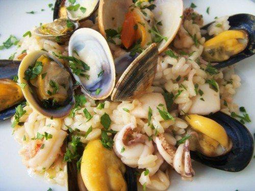 Risotto ai frutti di mare - ricette di Sardegna