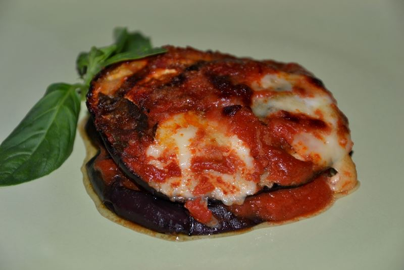 La parmigiana di melanzane - senza frittura