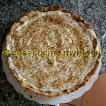 Crostata Nutella e crema al latte..cotto e mangiato. Ricetta di Imma Palumbo