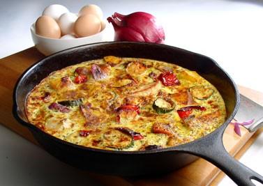 Frittata al forno - Ricetta light