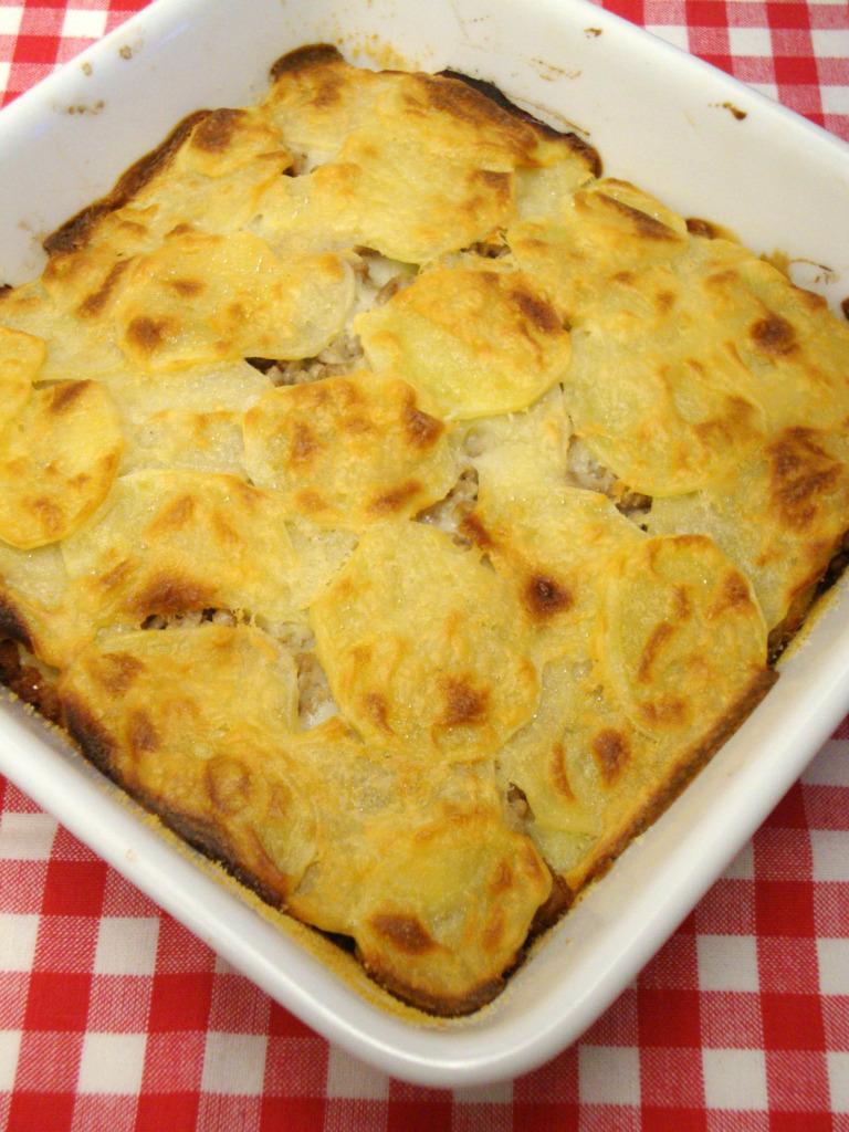 Tortino di patate e carne