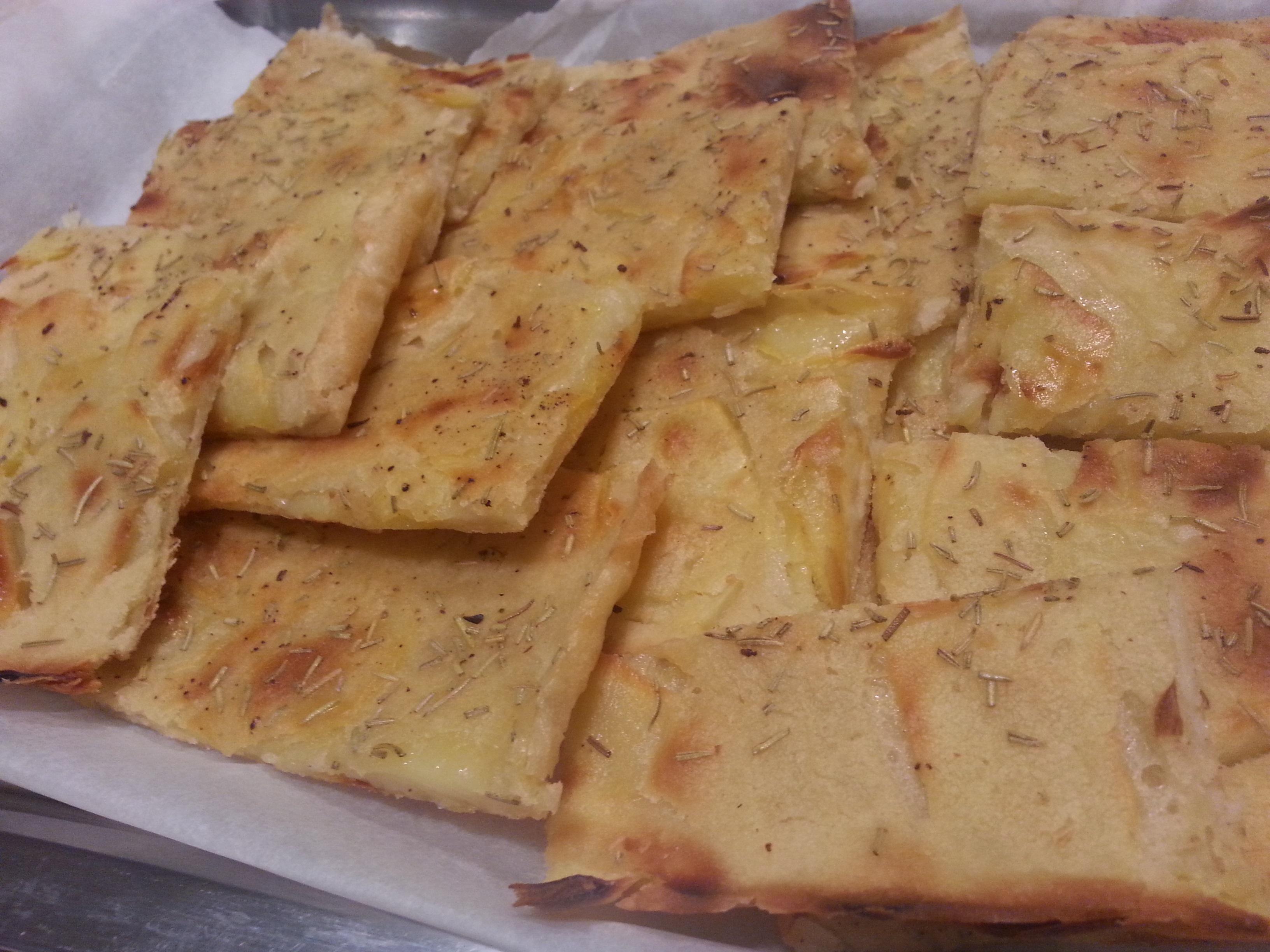 Pizza di patate in 5 minuti