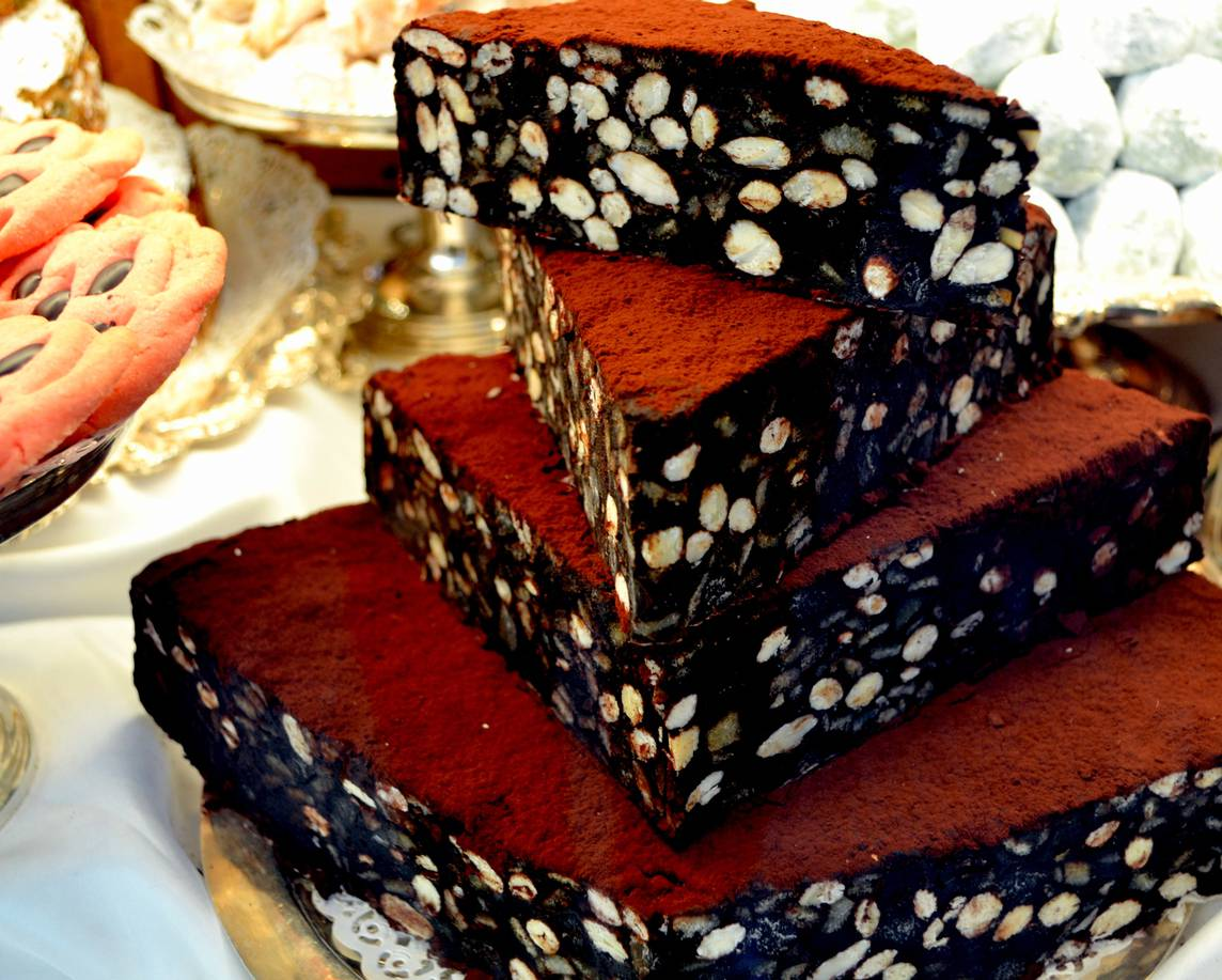 Torta Marshmallow e Nocciole