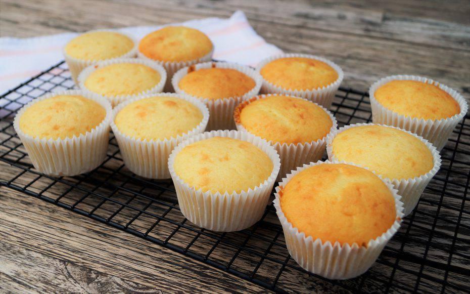 Muffin al mascarpone ripieni di Nutella
