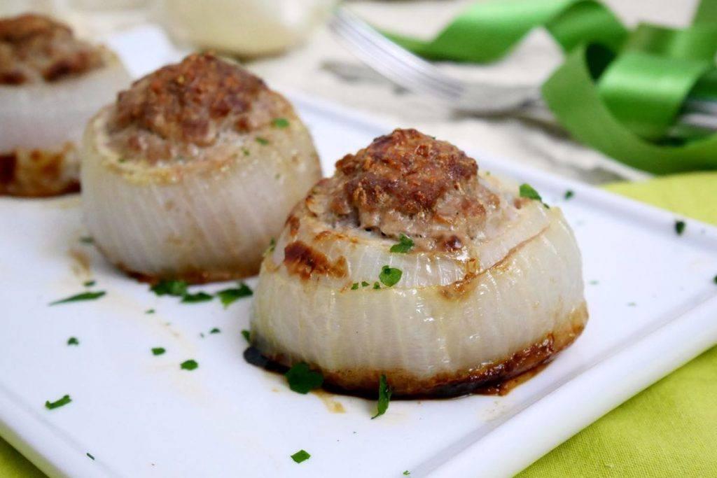 Cipolle ripiene di carne