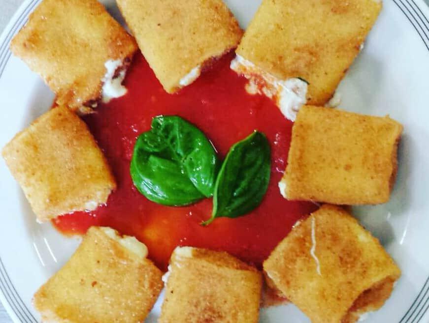 Paccheri Fritti Ripieni: la Ricetta Napoletana