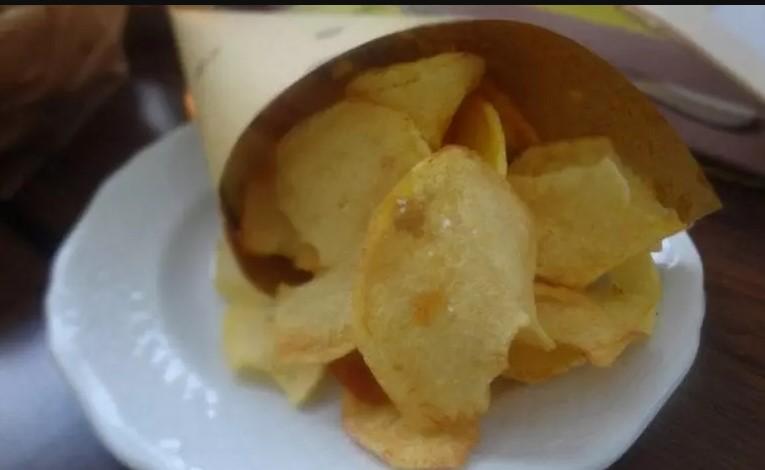 Patatine chips fritte in busta, il trucco e la ricetta per farle a casa