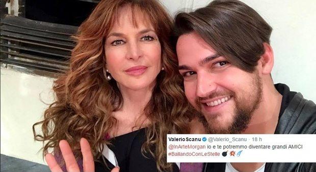 """Valerio Scanu twitta a Morgan: """"Io e te potremmo diventare grandi AMICI"""""""