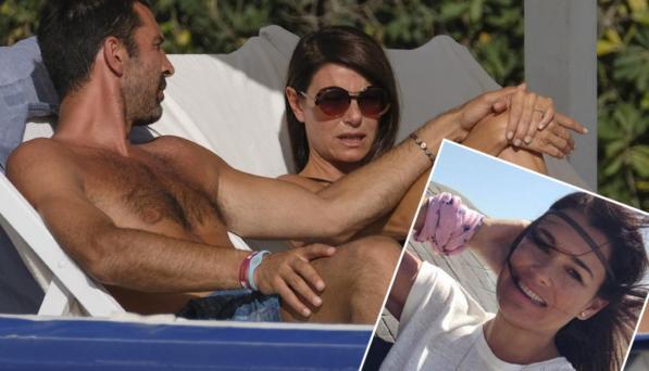 Gigi Buffon e Ilaria D'Amico a nozze, ma Alena Seredova li blocca
