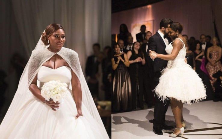 Serena Williams si è sposata: che matrimonio stellare!