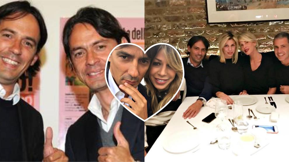 Simone Inzaghi sposa la sua Gaia: testimoni il fratello Pippo e l'ex Alessia Marcuzzi