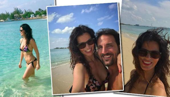 Laura Torrisi, amore e sole dalle Isole Cayman
