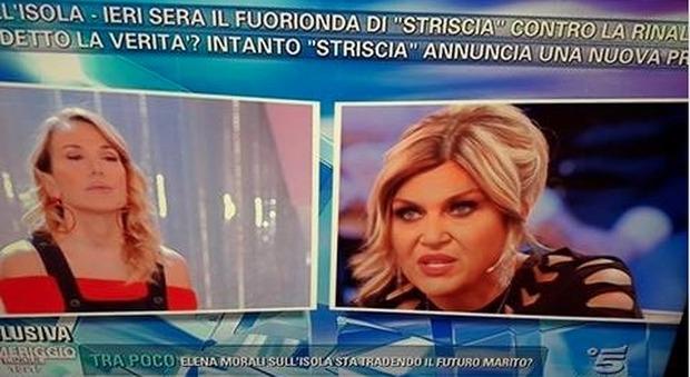"""Nadia Rinaldi a Pomeriggio5: """"Canna gate, la produzione sa. Perché ci fanno scannare tra noi?�"""
