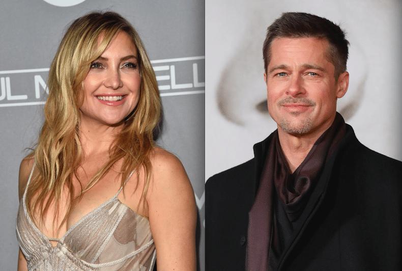 Brad Pitt dimentica Angelina Jolie con Kate Hudson