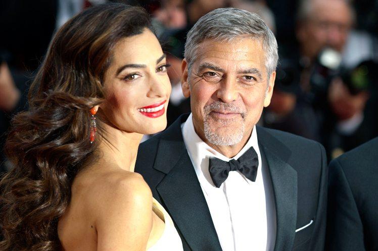 Anche George e Amal Clooney aspettano due gemelli!