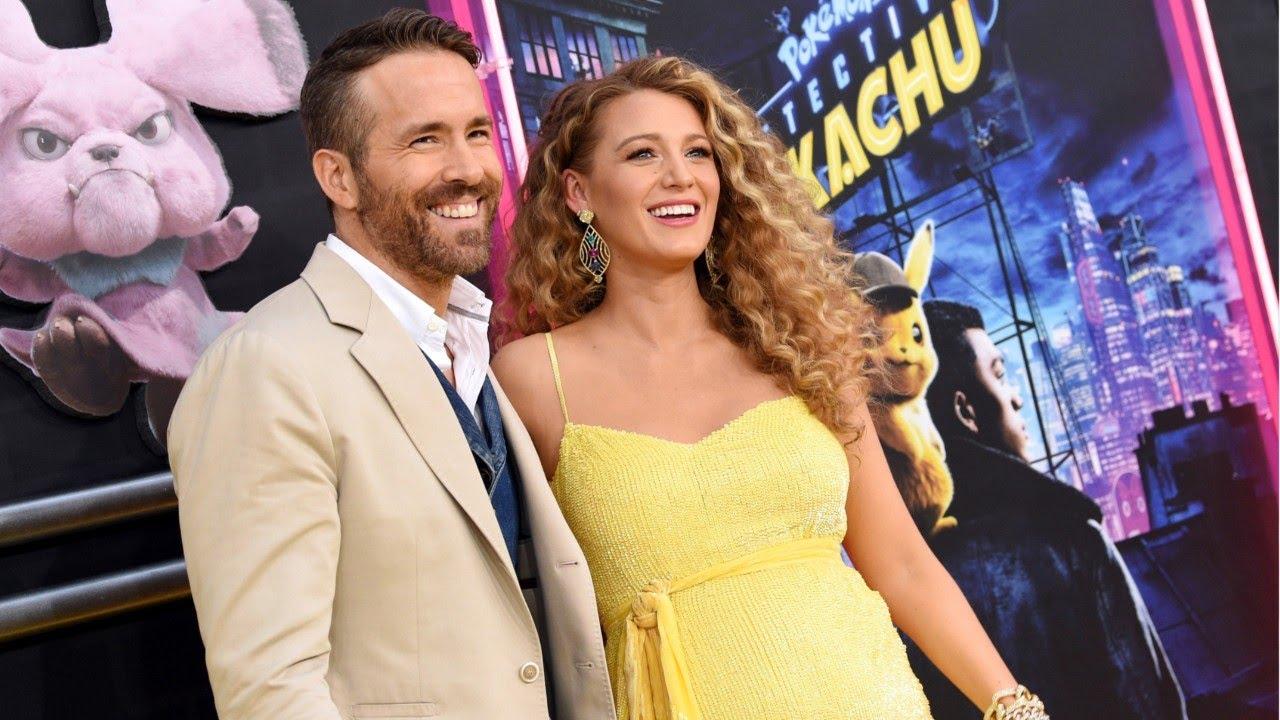 Ryan Reynolds e Blake Lively mostrano il loro terzo bebè
