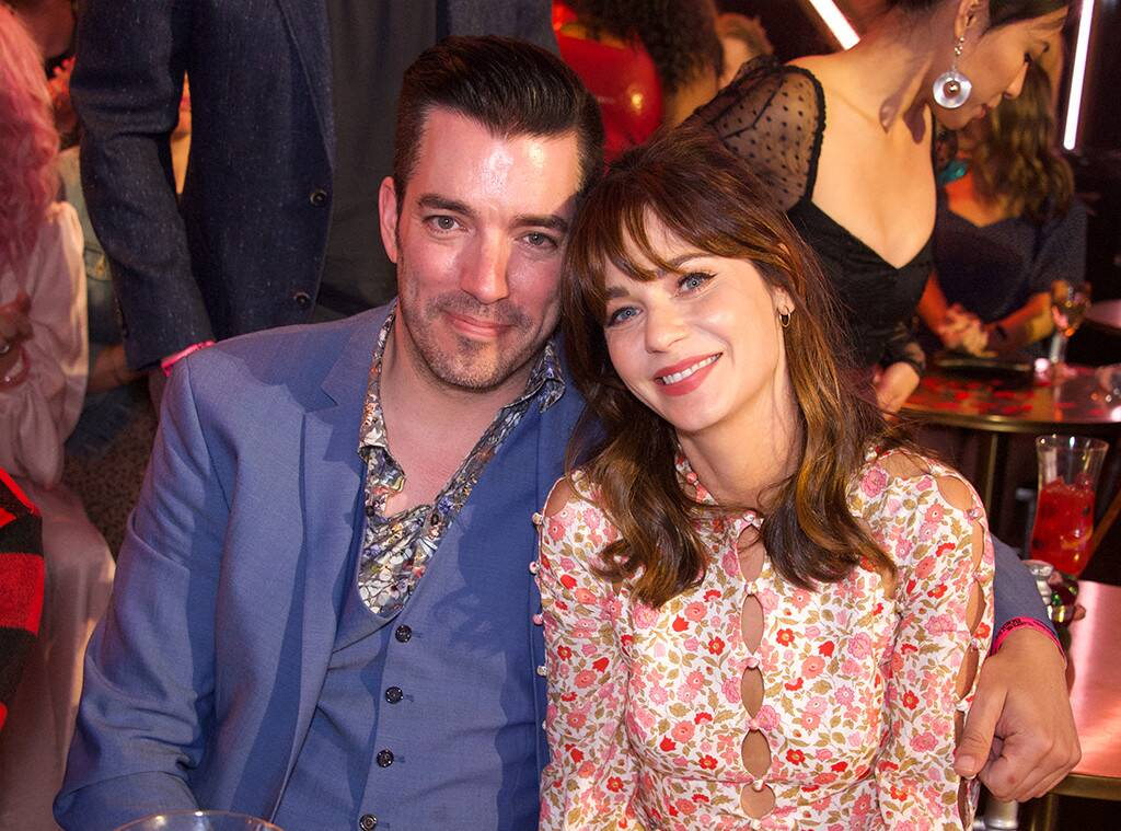 Zooey Deschanel e Jonathan Scott di