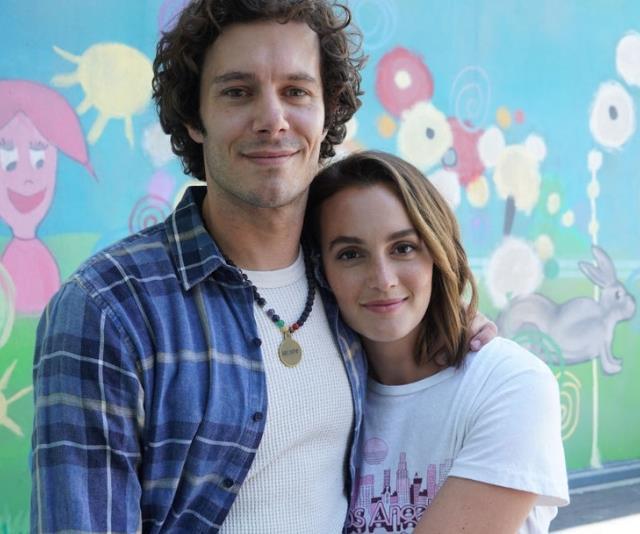 Leighton Meester e Adam Brody insieme nella serie