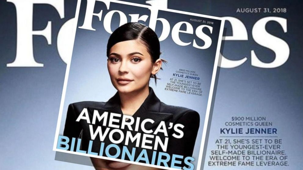 Forbes smaschera Kylie Jenner