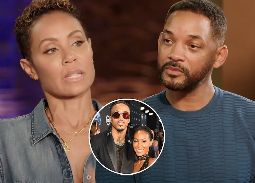 Jada Pinkett Smith ammette la relazione con August Alsina davanti al marito Will Smith