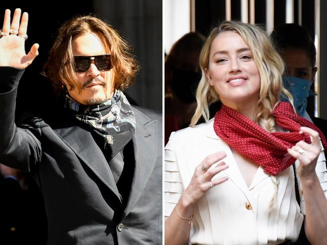 Johnny Depp vs Amber Heard: finito il processo-show lei dichiara