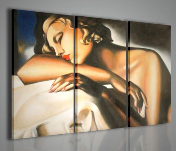 Quadri Moderni-Quadri Pittori Famosi-Tamara de Lempicka II